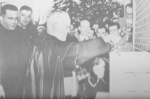July 9, 1950: St. Francis was dedicated